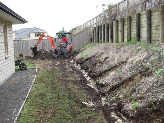 Retaining-Wall-Preparation