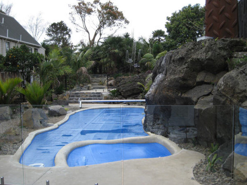 photo-of-Completed-Swimming-Pool-Landscaping-steps-and-garden